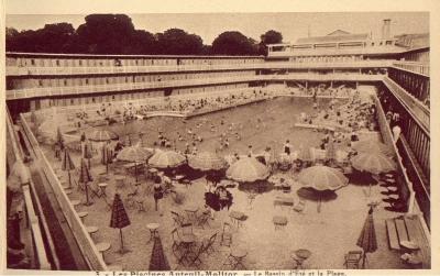 Histoire de la piscine molitor